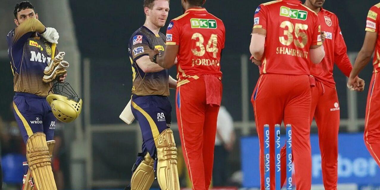 KKR return to winning ways, beat Punjab Kings by 5 wickets