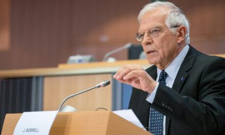 EU top diplomat urges immediate ceasefire between Israel, Palestine