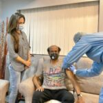 #ThalaivarVaccinated: Daughter tweets photo of Rajinikanth's vaccination
