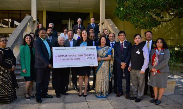 Premier stands in solidarity with Queensland's Indian community