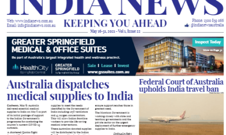 India News – May 16-31, 2021, Vol 1 Issue 22