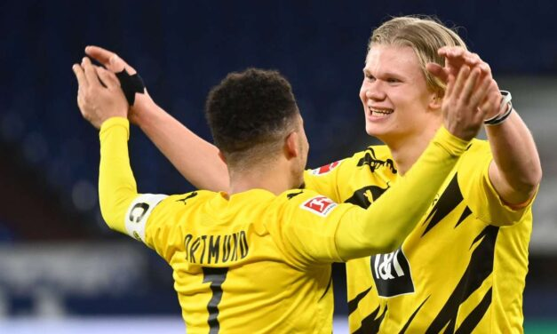 Haaland, Sancho fire Dortmund to 5th German Cup title