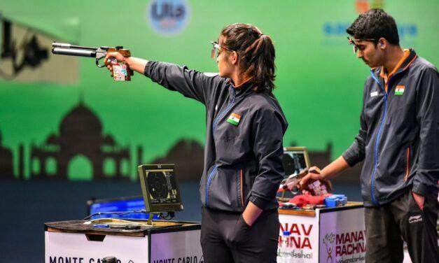 India pistol coach Smirnov grounded without visa