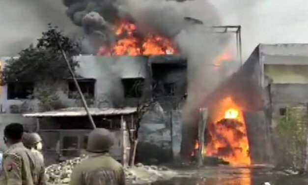 Fire in Ghaziabad carton factory, no casualties reported