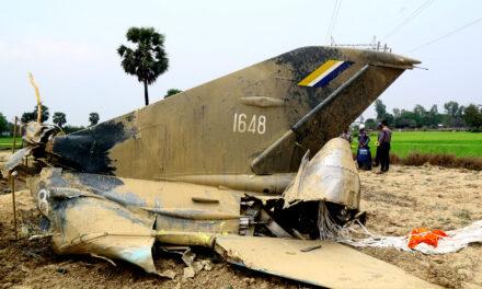 12 dead in Myanmar military plane crash