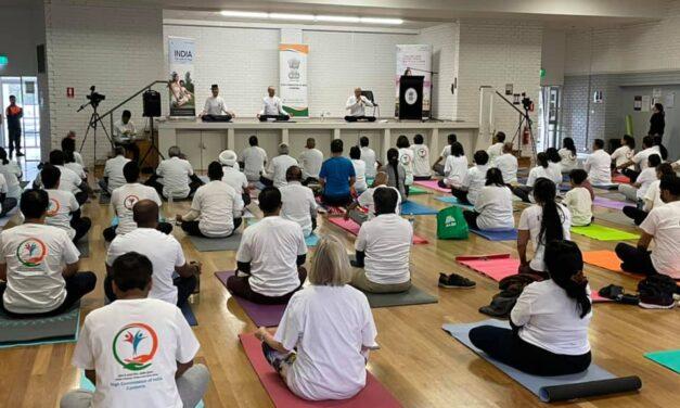HCI celebrates International Yoga Day 2021