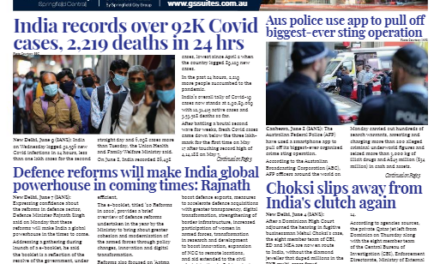 India News – June 16-30, 2021, Vol 1 Issue 24