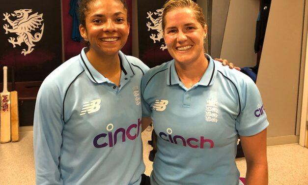 Sophia powers England women to series win over India