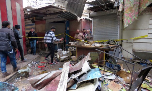 15 civilians injured in Baghdad bomb blast