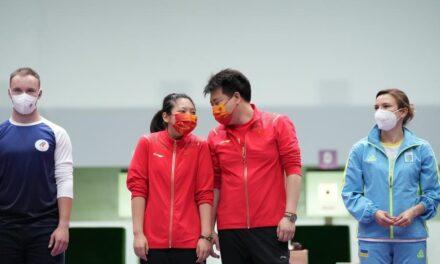 China takes mixed air pistol gold, as Chaudhary-Manu pair disappoints