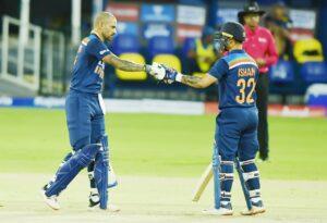 Dhawan helps India beat Sri Lanka by seven wickets