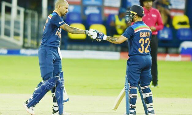 1st ODI: Dhawan, Kishan help India thrash Sri Lanka