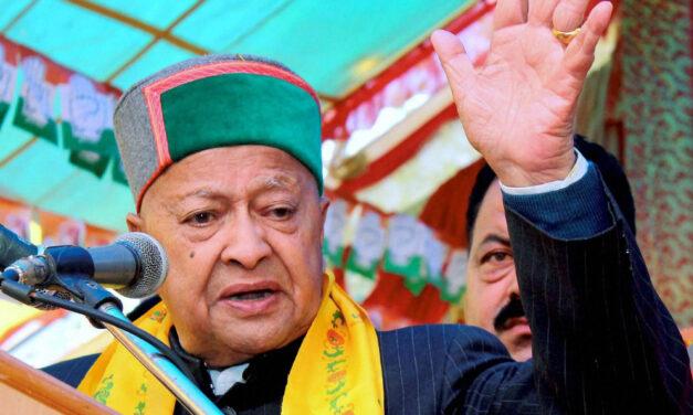 6-time Himachal CM Virbhadra passes away
