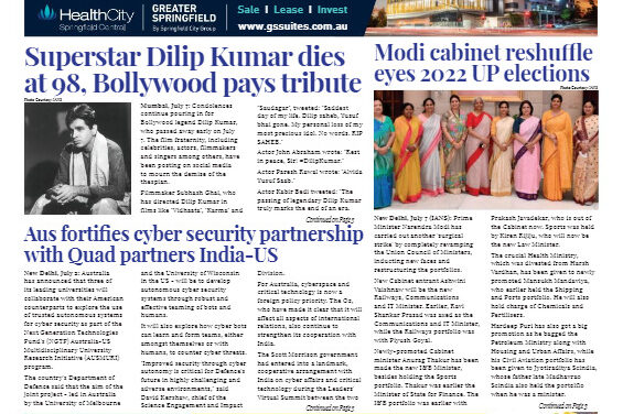 India News – July 16-31, 2021, Vol 1 Issue 26