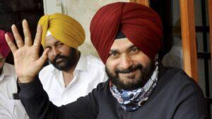 Navjot sidhu as punjab congress new president