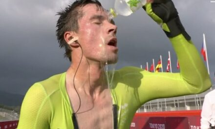Olympics: Slovenian wins men's cycling time trial gold