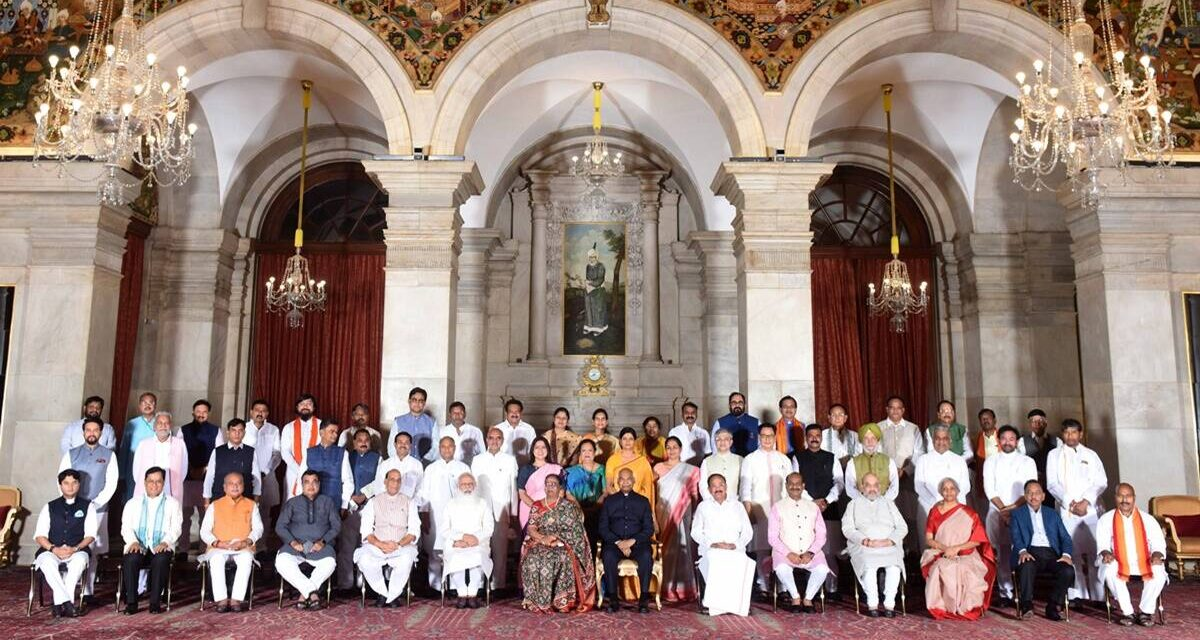 Cabinet reshuffle: Full list of ministers in Narendra Modi's government