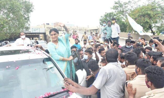 Sharmila launches YSR Telangana Party