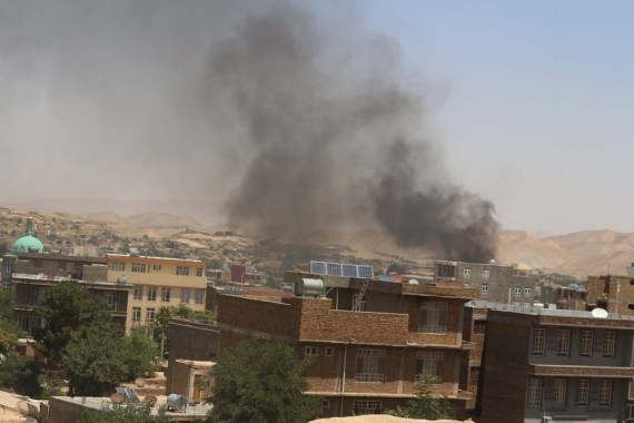 US launches airstrikes to support Afghan forces: Pentagon