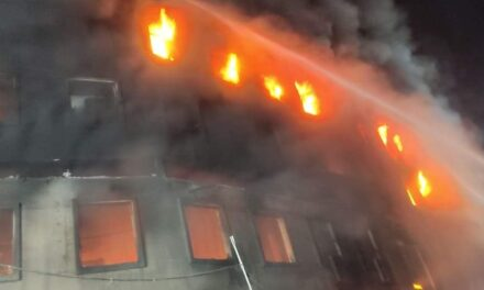 3 workers killed, 26 injured in massive fire in B'desh factory