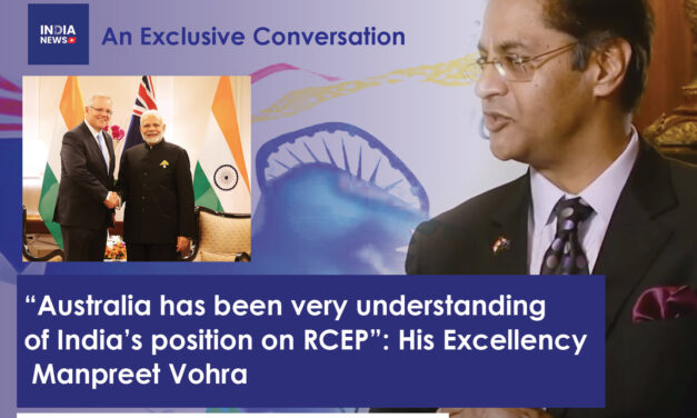 Special Talk with Mr. Manpreet Vohra, Indian High Commissioner to Australia