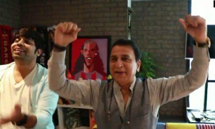 Gavaskar celebrates Chopra's gold with jig, jalebis