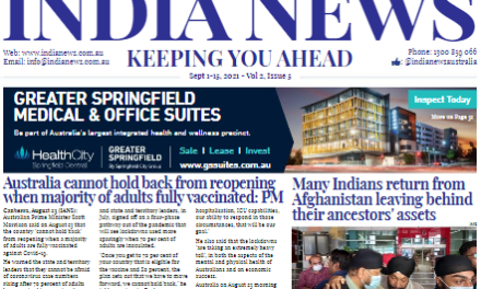 India News – September 1-15, 2021, Vol 2 Issue 5