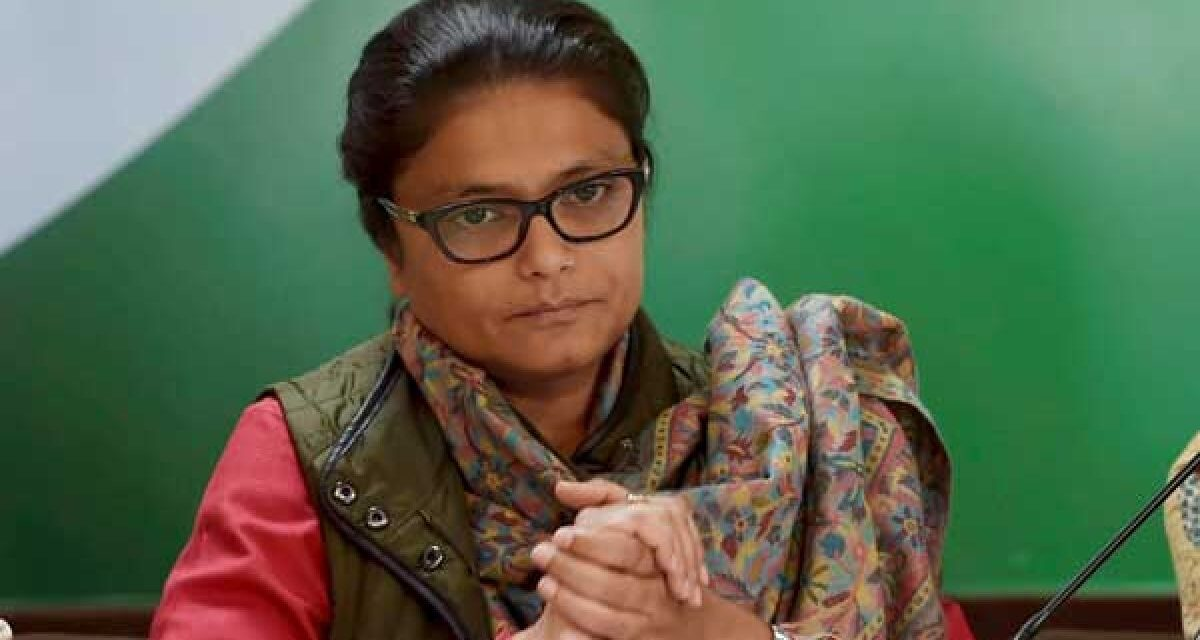 Mahila Congress chief Sushmita Deb resigns from party