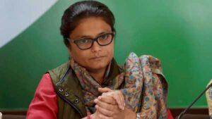 Mahila Congress chief Sushmita Deb resigns
