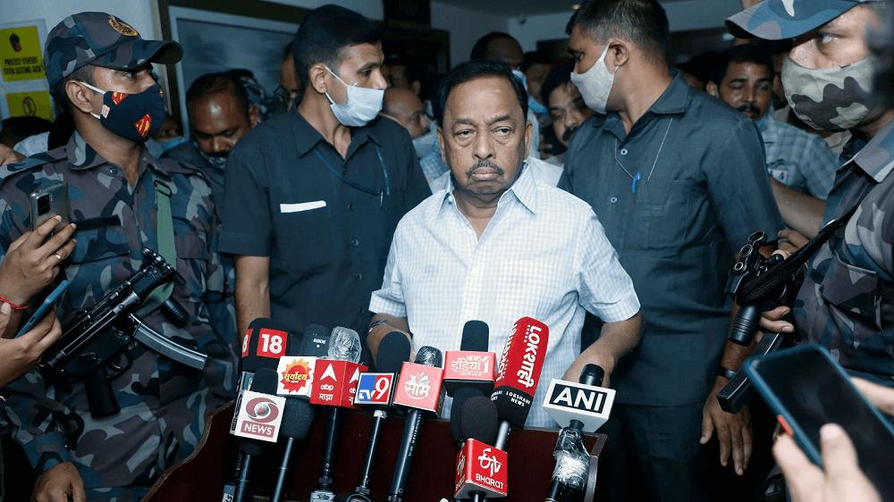 'Slap slur' case: Raigad court grants bail to Narayan Rane