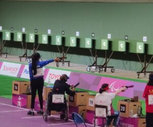 Paralympic shooting Rubina Francis in final of women's 10m air pistol