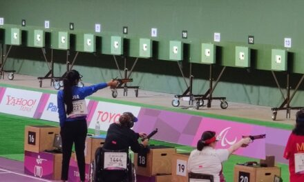 Paralympic shooting: Rubina Francis in final of women's 10m air pistol