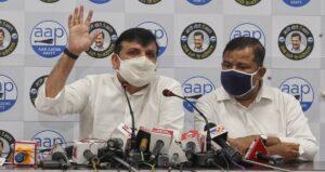 Senior AAP leader & Rajya Sabha Member Sanjay Singh