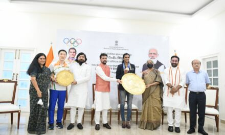 Sindhu among India's greatest Olympians: Sports Minister Thakur