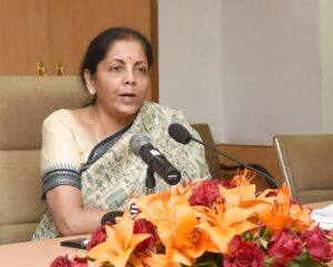 Union Minister of State for Commerce & Industry, Nirmala Sitharaman
