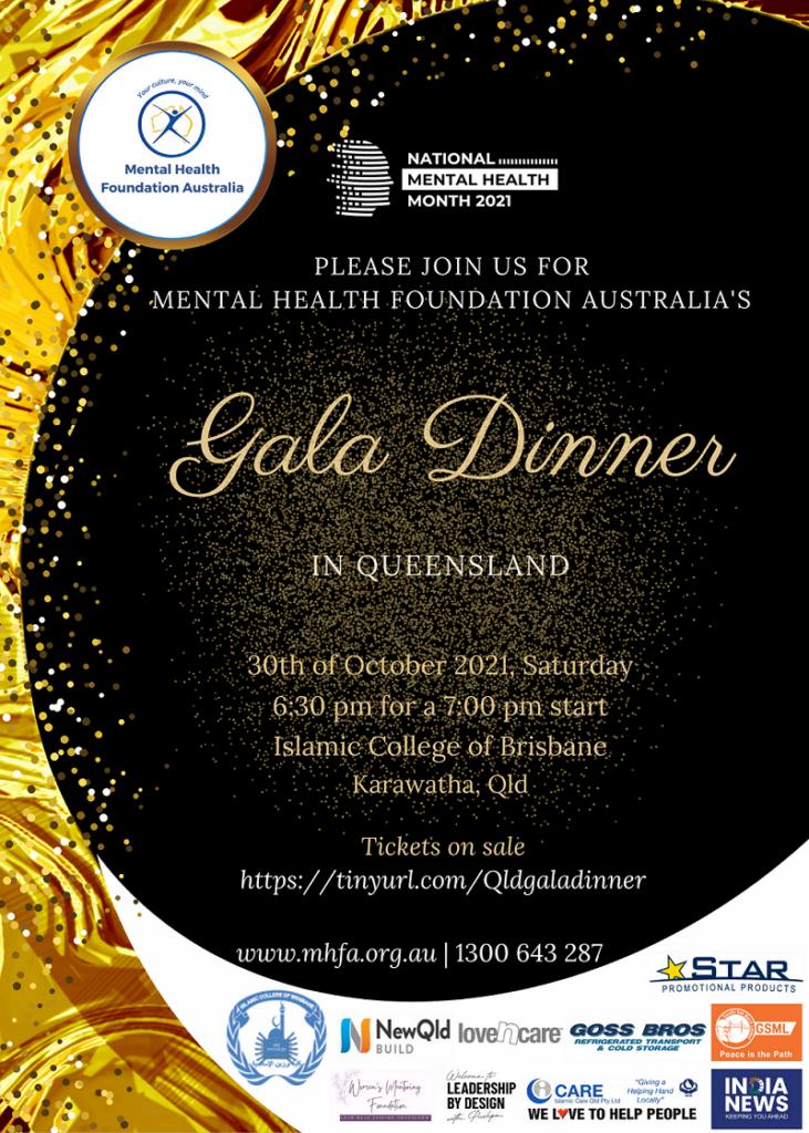 Gala Dinner in Queensland 2021