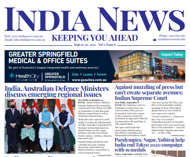 India News – September 16-30, 2021, Vol 2 Issue 6