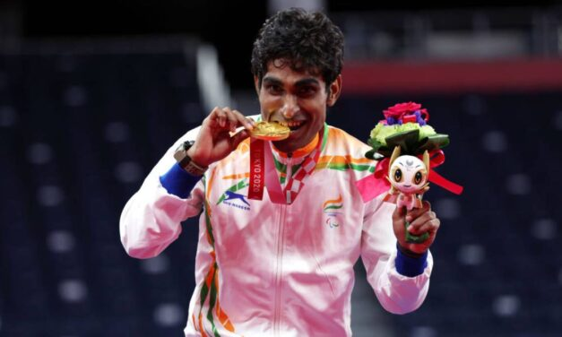 Paralympics: Bhagat wins gold, Sarkar bronze in badminton SL3