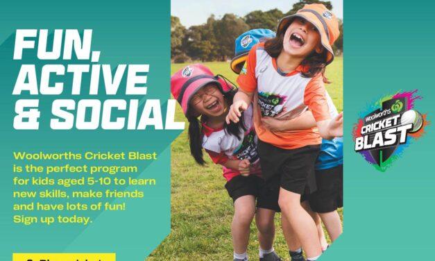 Woolworths Cricket Blast For Kids