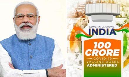 UN India lauds 100 crore vax feat