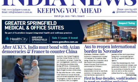 India News – October 16-31, 2021, Vol 2 Issue 8