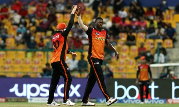 IPL 2021: Hyderabad hold nerve to clinch a thrilling win over Bangalore