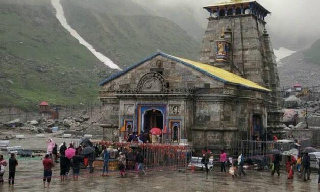2,000 pilgrims stranded in Kedarnath amid heavy rain rescued