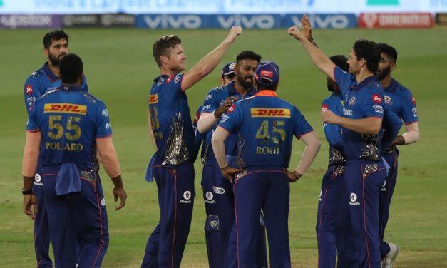 IPL 2021: Kishan, Coulter-Nile power Mumbai to 8-wicket win, keep playoff hopes alive