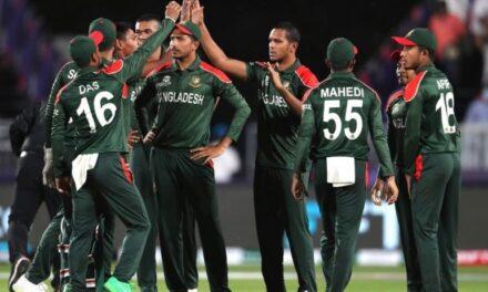 T20 World Cup: Bangladesh beat Oman by 26 runs, keep Super 12 dreams alive
